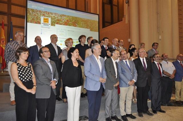 El Gobierno de Aragón se suma a la Comunidad Por el Clima