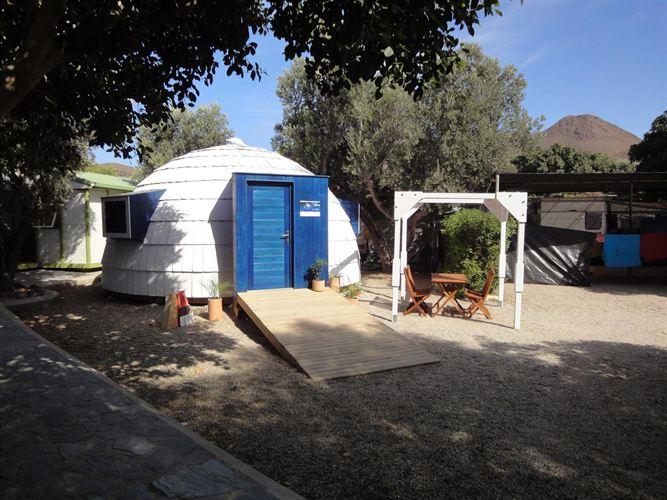 Patenta y comercializa una casa ecológica con forma de iglú
