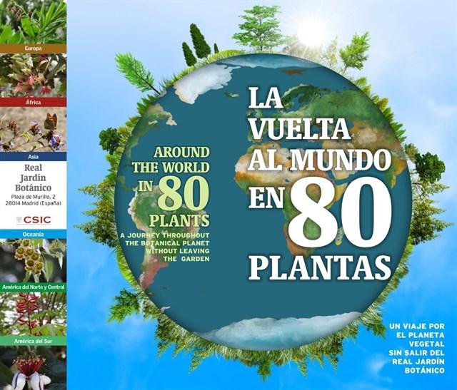 El Real Jardín Botánico estrena el itinerario 'La vuelta al mundo en 80 plantas' para celebrar el Día del Libro
