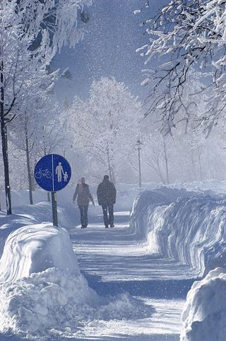 El calentamiento global no impedirá olas de frío extremas