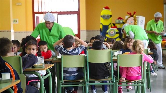 El 75% comedores escolares ofrecen menús saludables
