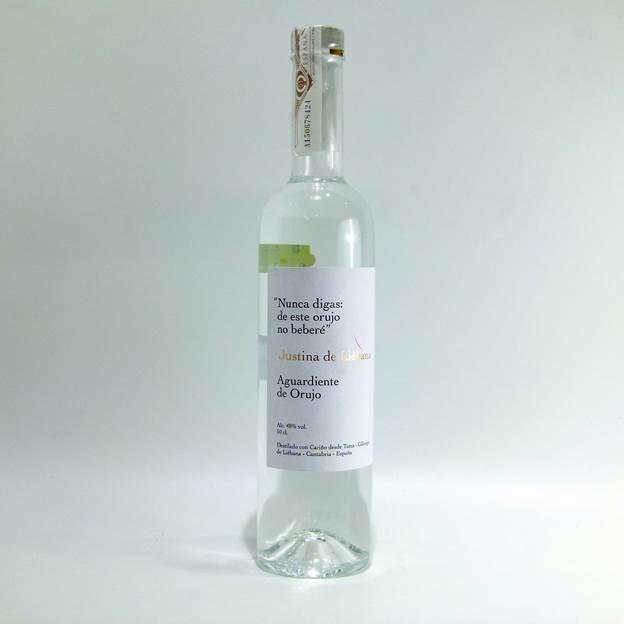 En Cantabria premian el diseño de la marca de orujo ecológico Justina de Liébana