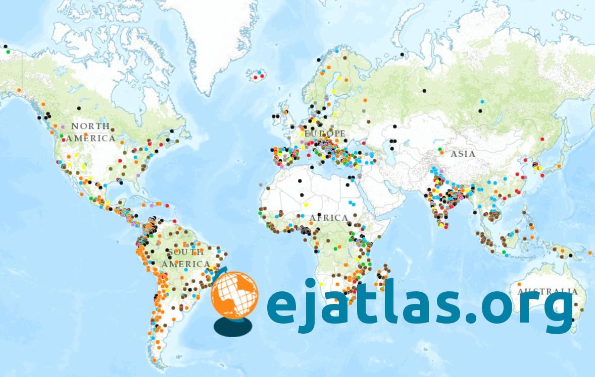 ¿Qué es el Atlas de Justicia Ambiental o EJA?