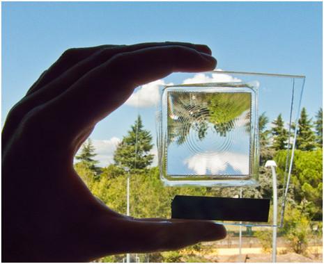 La maravillosa lente que optimiza la concentración fotovoltaica