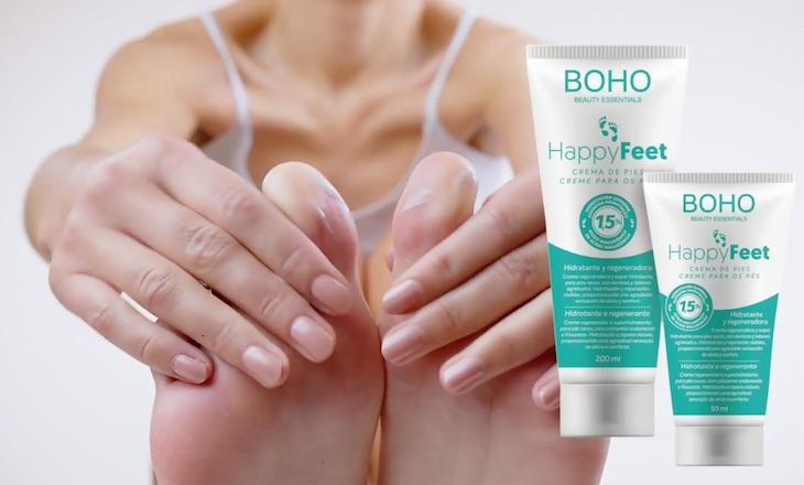 HappyFeet, alivio y confort natural para la piel de nuestros pies