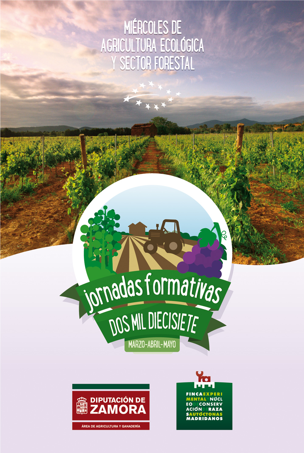 Jornadas 2017 sobre agricultura ecológica y sector forestal
