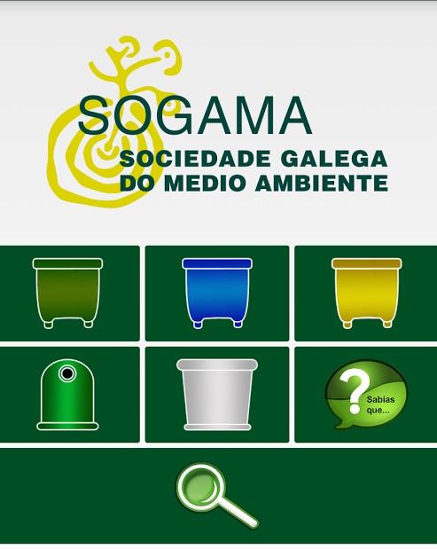 App de Sogama, ¿dudas sobre reciclaje?