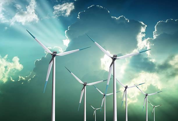 Cuando cae la producción de energía eólica se dispara el precio de la electricidad