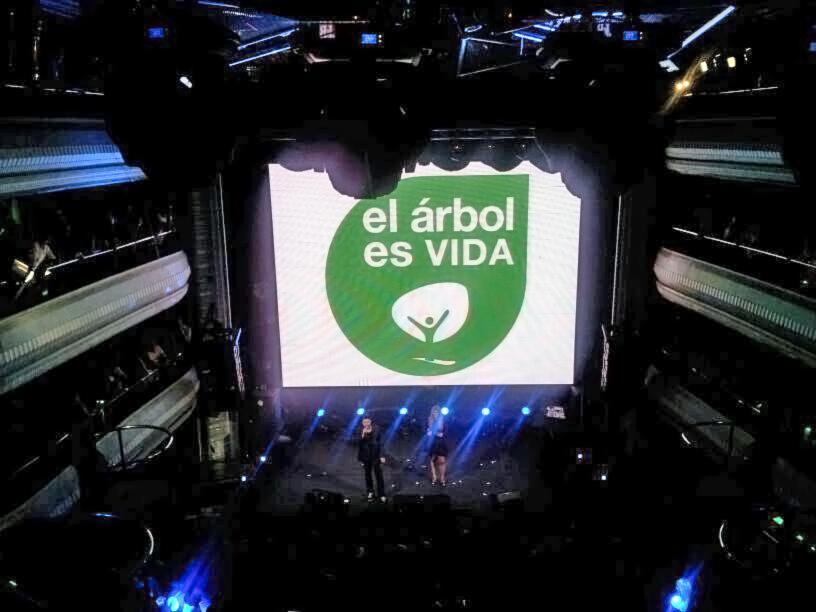 Los 40 principales apoyan el proyecto  'el árbol es vida'