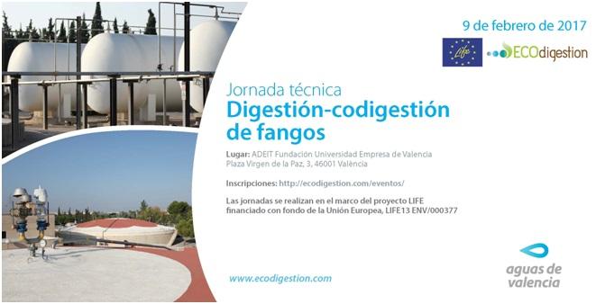 Los principales expertos internacionales se reúnen en Valencia para analizar la digestión/codigestión de fangos como fuente de energía limpia