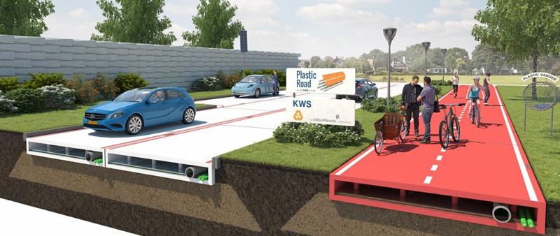 Proyecto PLASTIC ROAD, galardonado por las buenas prácticas ambientales al conservar carreteras