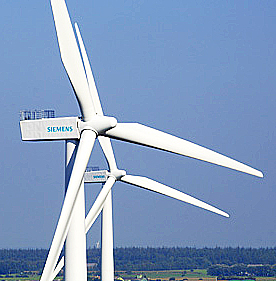 La energía eólica contribuye a ahorrar agua