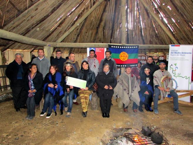 Chile. Fondo de Protección Ambiental financiará instalación de paneles solares para ruka Mapuche en Constitución