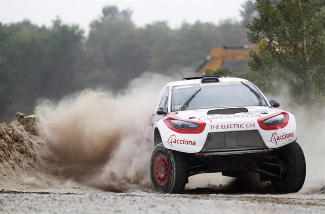 El Acciona 100% EcoPowered completa en undécima posición su primer rally europeo