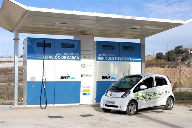 Innovador proyecto de carga para coches eléctricos