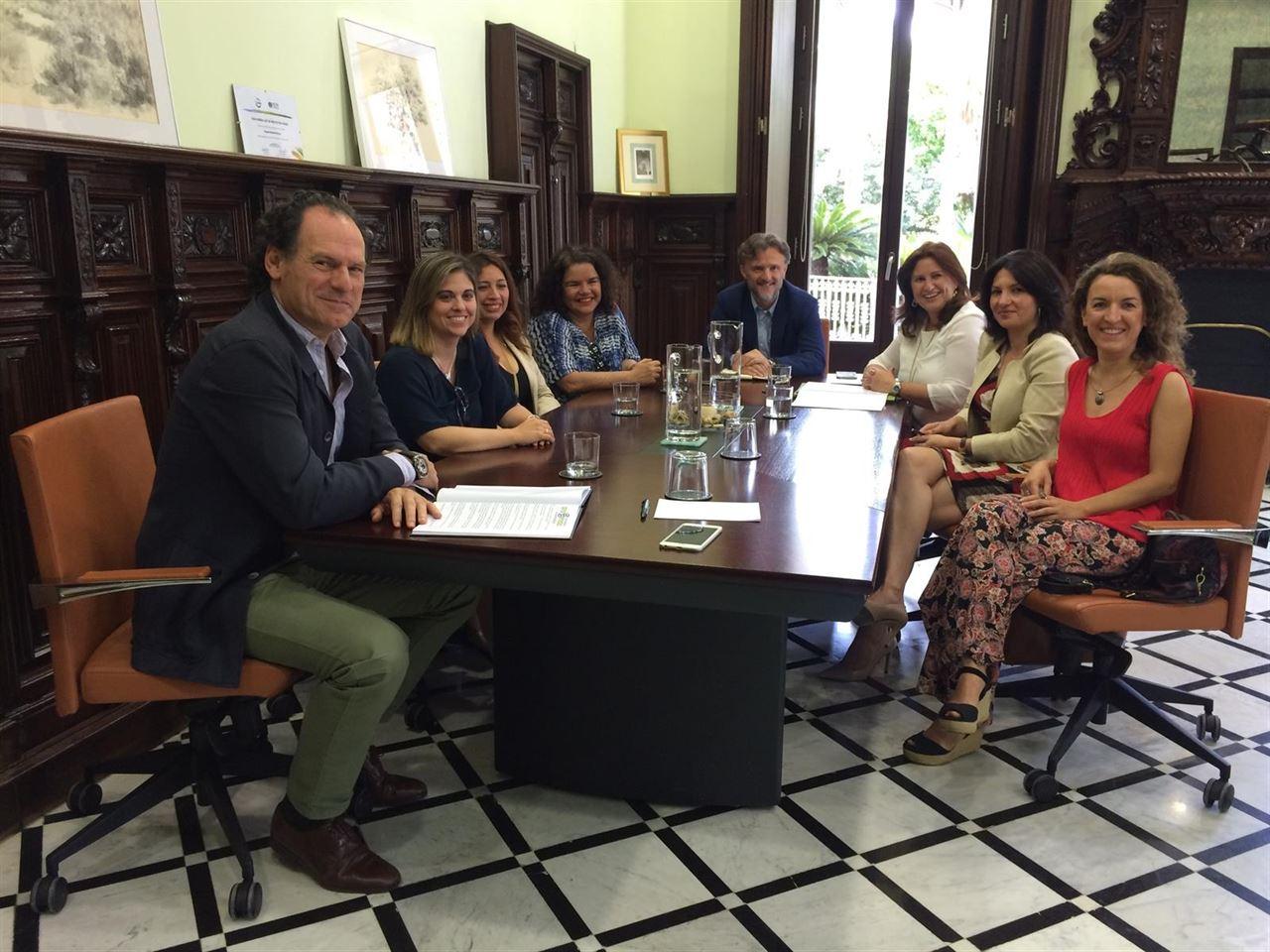 Andalucía se reúne con la Asociación de Mujeres Empresarias del Medio Ambiente y el Reciclaje