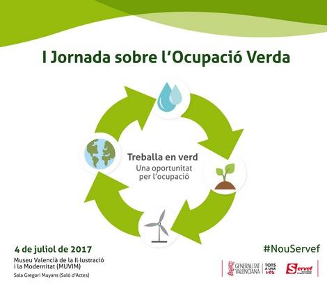 I Jornada sobre Ocupació Verda: 'Treballa en verd: Una oportuntat per l'Ocupació Verda'