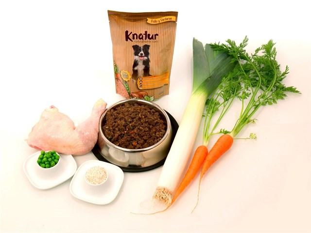COMUNICADO: Knatur, el nuevo alimento para perros sano y natural, sin harinas ni aditivos