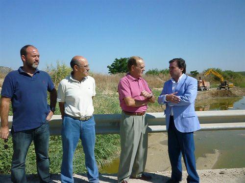 La Junta afronta la última fase de cauces con la adecuación del arroyo Salado en Porcuna