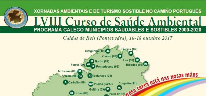 Caldas de Reis acoge unas Jornadas Ambientales y de Turismo Sostenible en el Camino Portugués