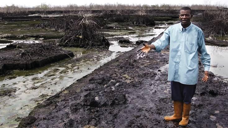 Shell pagará a Nigeria la 'ridícula' cantidad de 70 millones de euros por dos vertidos de petróleo en el Delta del Níger