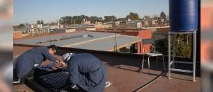 Argentina. Instalan termotanques solares en el partido de Merlo