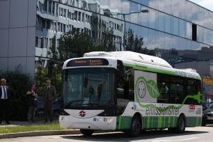 Joule power, importador del nuevo autobús urbano rampini eléctrico