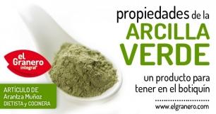La Arcilla Verde, un remedio muy natural