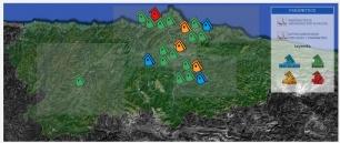Se dispara la contaminación en toda Asturias, mientras el mundo habla del cambio clímatico