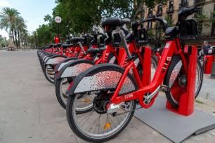 El 'Bicing' se conecta a 'Barcelona Energía', comercializadora de energía verde