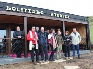 Euskadi. Inaugurado el nuevo refugio ecoeficiente del monte Kolitza, en Balmaseda