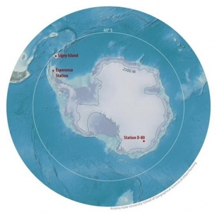La Península Antártica ha alcanzado los 17,5 grados Celsius