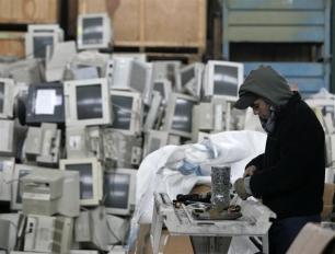 La chatarra electrónica crece a un ritmo del 20% anual