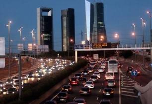 Comunidad de Madrid, restricciones de tráfico para combatir la contaminación por ozono