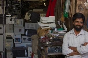 La 'plaga' de los residuos electrónicos en Asia