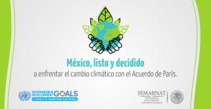 México ratifica ante la ONU el Acuerdo de París
