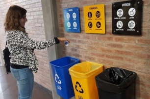 Argentina. La Universidad Nacional de Cuyo recolectó 15 toneladas de residuos en un año