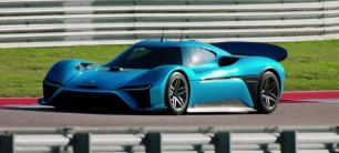 NIO EP9, el superdeportivo eléctrico que bate record de velocidad