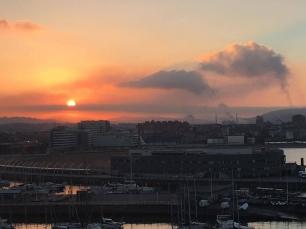 En el segundo trimestre del año vuelve a subir la contaminación del aire en Gijón