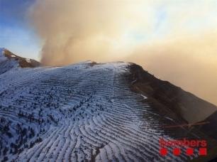 Los grandes incendios forestales aumentaron un 63% en 2016