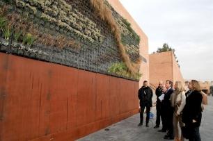 Alcobendas instala un jardín vertical