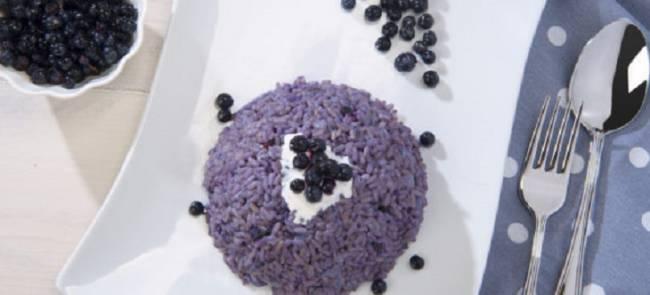 Receta Ecológica recomendada por ECOticias.com: Arroz con arándanos azules