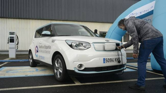 Andalucía, presente en la II Edición de la Vuelta a España en vehículo eléctrico para potenciar su movilidad