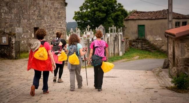La Xunta de Galicia impulsa al reciclaje de envases en el Camino de Santiago