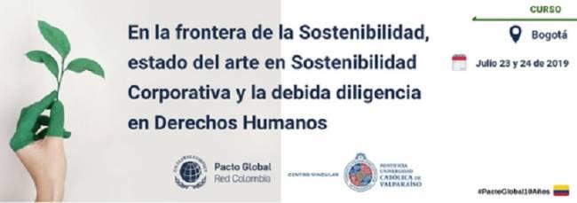 Pacto Global Red Colombia y el Centro Vincular de la Pontificia Universidad Católica de Valparaíso realizarán el siguiente curso