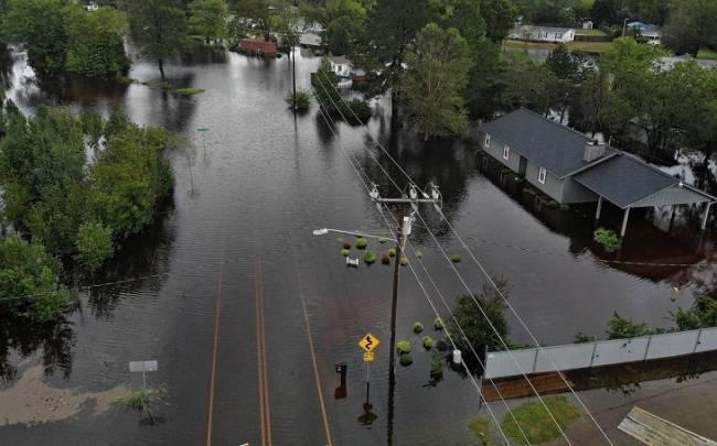 Autoridades alertan de que las inundaciones provocadas por 'Florence' en EEUU podrían empeorar en próximos días