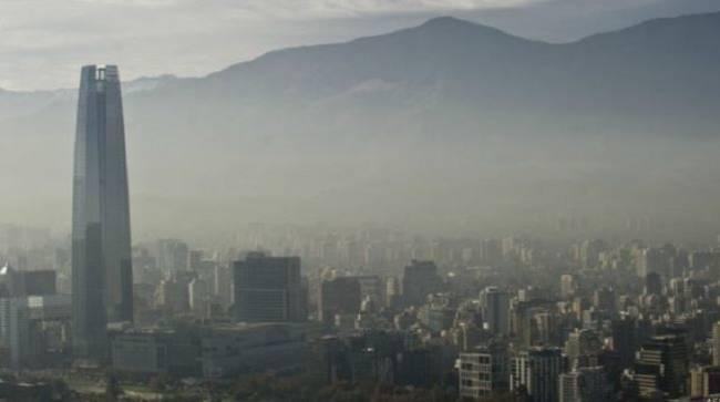 Santiago de Chile bajo medidas por contaminación ambiental