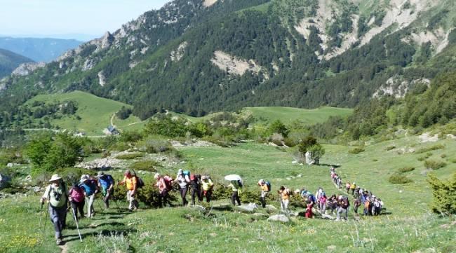 Excursiones por el collado del Bozo, Foratón o la plana Mistresa, en la provincia de Huesca