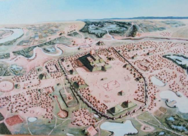 Excrementos antiguos atribuyen el ocaso de Cahokia al cambio del clima