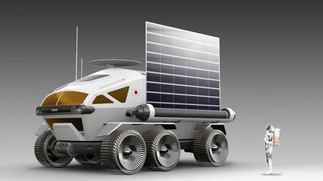 Toyota y la Agencia de Exploración Aeroespacial de Japón colaborarán en un rover de pila de combustible